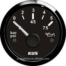 KUS oil pressure gauge, perkins generator tank indicator