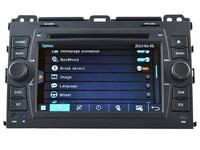 DSP Audio Output With 10 Band EQ 1080P HD Video Display Toyota Prado Car Audio Stereo Navigation