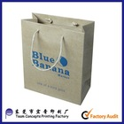 Brown Kraft Fries Food Paper Packaging Bag
