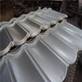 transparent de zinc aluminium ondulé feuille de toiture en métal bon marché