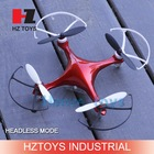2.4G 4CH 11cm drone headless mode quadcopter kit, rc skywalker quadcopter with lights.