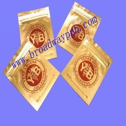 custom printed medical use mini small ziplock bags for pill/foil ziplock bag