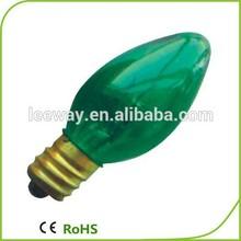 E12 10W C7 coloured glass lights