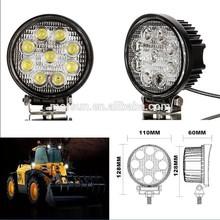 auto off road 4 inch 27w epistar led work light, LED 12V / 24V 4WD Work Light Flood Lamp Truck Car Boat Bar 4x4