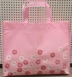 Eco-Friendly colorful non woven shopping tote bag