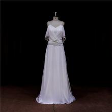 Factory direct bowknot sash mermaid bridal dresses+ruffled organza+beads