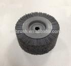 industrial hand tool roller brush for wood grain