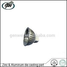 Custom die cast aluminum led lamp housing