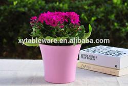 home decor Cheap plastic flower pots wholesale malaysia