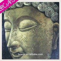 Wholesale Framed buddha head painting