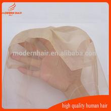 Hot sale full silk base swiss lace wig cap for women