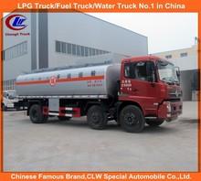 180hp Fuel Tank Truck Diesel Fuel Tanker Truck Dongfeng 6x2 Oil Transportation Truck Steel Tanker