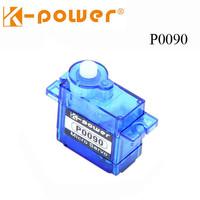 Mini Servo (1.8kg) Standard to fit 1/16 scale models K-power P0090 9g/1.8kg/0.09s