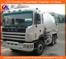 Heavy Duty JAC Concrete Mixer Truck 8cbm JAC Concrete Mixer Truck 10cbm JAC used concrete mixer truck