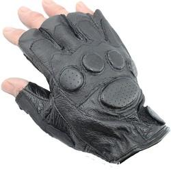 HFR-T1666 2015 hot sale half finger men leather glove motorcycle
