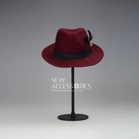 promotion custom womens wool felt fedora hat