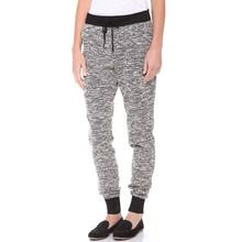Cotton polyester hemp custom plain women harem sweat pants