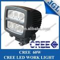 Barco 5jg-nd60 led de luz de trabajo led los faros de automóviles para camiones fuera de carretera led de luz de trabajo