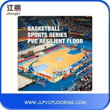 wearable universities pvc sports floor