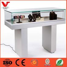 Glass jewelry display cabinet,jewelry store equipment,glass jewelry display table