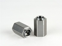 Hexagon male and female decorative screws and nuts