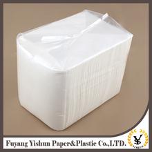Latest Hot Selling!! folding paper napkin for restaurant hotel napkin