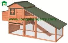 Asphlat Felt roof wooden chicken House