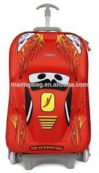 Super cool cute Car shape Kids luggage for boy