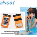 Açık spor yüzme bel çantası, su geçirmez telefonu durumlarda