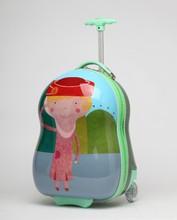 Hardshell trolley China factory direct sale children cartoon luggage