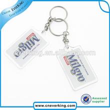 Custom 3d tyre design key chain for promotion