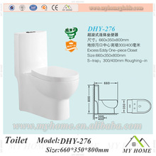 2015 popular design one piece ceramic toilet china manufacturer