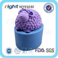 Sheep DIY handmade animal soap silicone mold soap