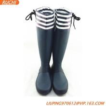 2015 Supper soft rubber rain boots, rubber rain shoes SRB01