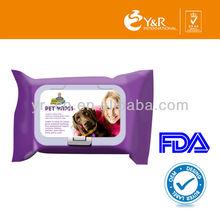 Y&R Supplier Pet Wipe