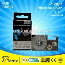 2015 Newest compatible casio label tape PT-9SR for CASIO