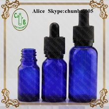 Manufacturer e-liquid glass bottles and packaging with childproof cap