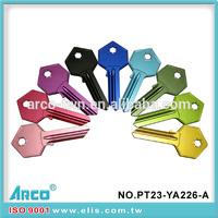 Aluminum Alloy Blank Key