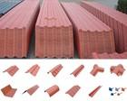 Spanish style resin roof tiles terracotta