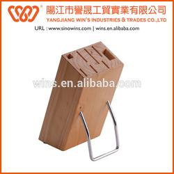 Practical Wooden Kitchen Knife block