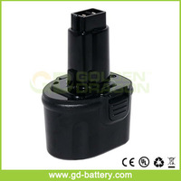Replacement power tool battery for Power Tool Battery for Dewalt 7.2V Ni-CD battery DE9057