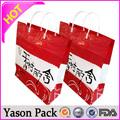 Yason plástico househole de plástico de embalaje para alimentos líquidos dispensador de plástico doypack con tubo de salida