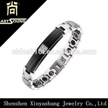 Stainless steel germanium magnetic wholesale palestine bracelet