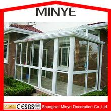 high quality sun room/Low-E energy saving design low price sunrooms /aluminium sunrooms