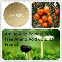 High Purity 80% Vegetable Plant Amino Acid Organic Fertilizer
