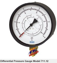 wika Differential Pressure Gauges with Bourdon Tube 711.12