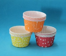 Paper muffin packaging cups