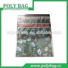 pe printed small plastic bags for shirt shopping