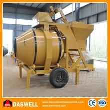 hydraulic mobile portable concrete mixture machine
