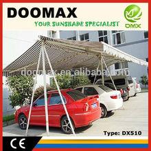 #DX510 Aluminum Frame Car Parking Shade
